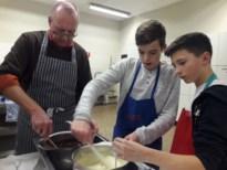 Jong keukengeweld maakt pralines bij KWB Kwaadmechelen