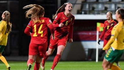 Red Flames sluiten 2019 in schoonheid af met ruime zege tegen Litouwen