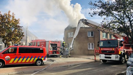 Bewoner zwaargewondna brand in appartement