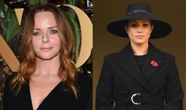 Stella McCartney ligt onder vuur voor post over jas van Meghan Markle
