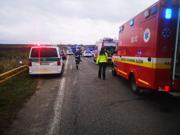 Dertien doden bij busongeval in Slovakije
