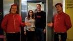 Hasseltse studenten promoten ondernemingsidee in lift