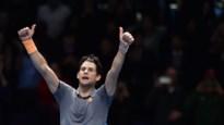 Dominic Thiem verslaat Novak Djokovic op ATP Finals na marathonmatch