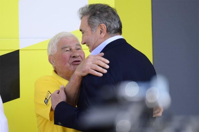 """Eddy Merckx : """"Poulidor was een monument van een sportman en mens''"""
