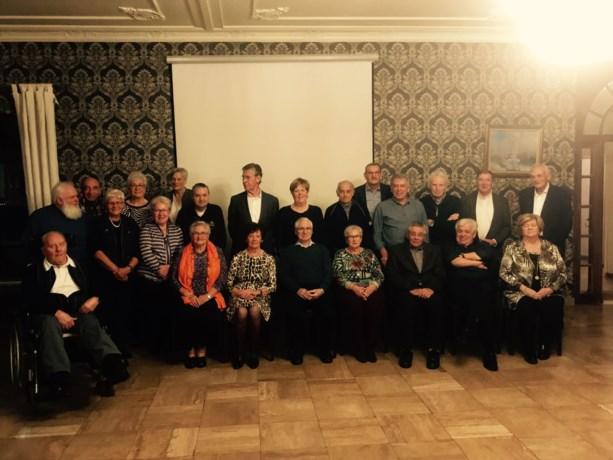 75-jarigen van Stokkem vieren feest