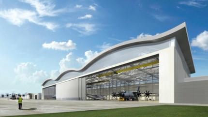 Hasselts bedrijf bouwt grootste vliegtuighangar ooit voor het leger