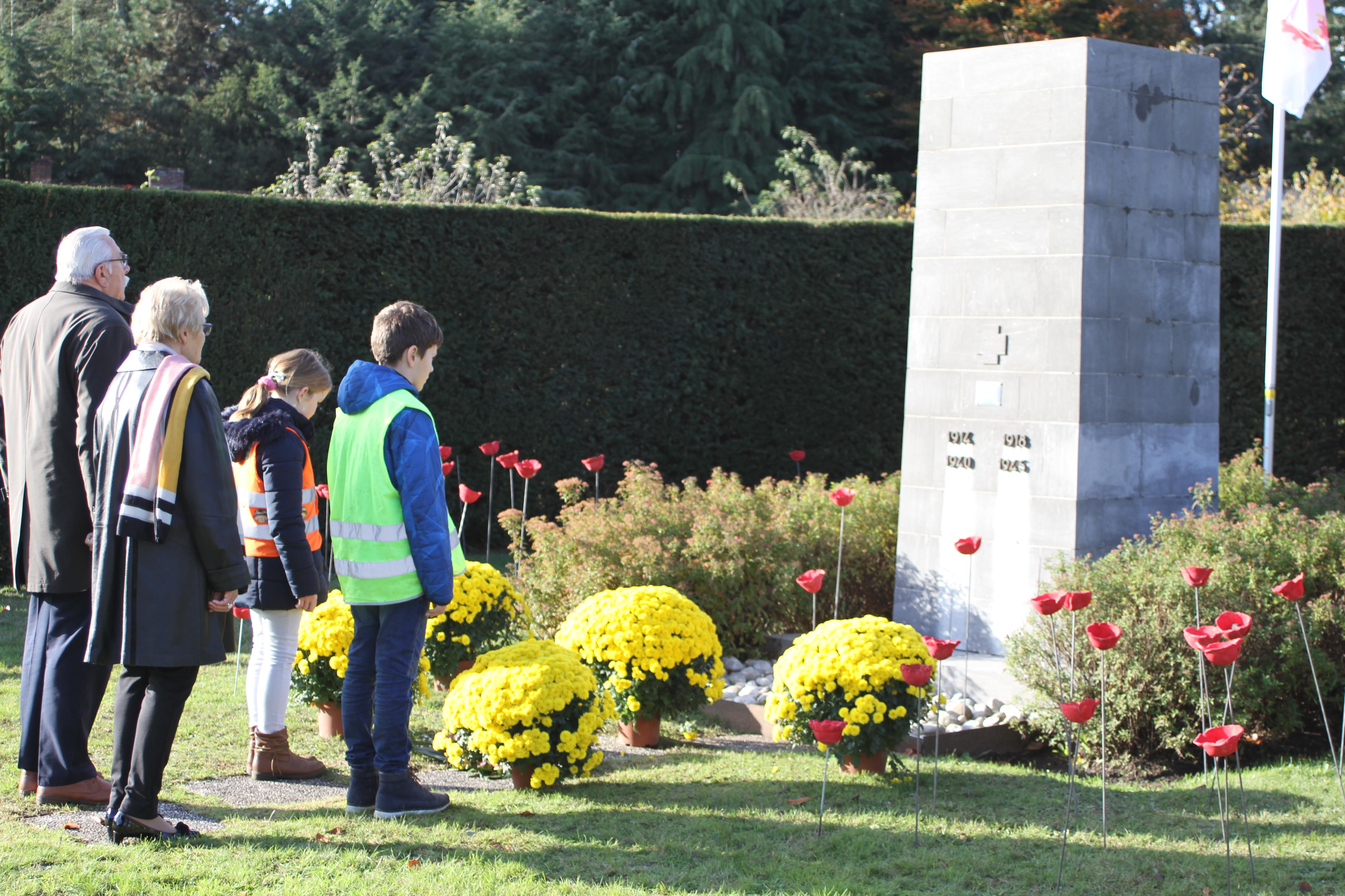 De Heppening sluit oorlogsproject af aan monument - Het Belang van Limburg