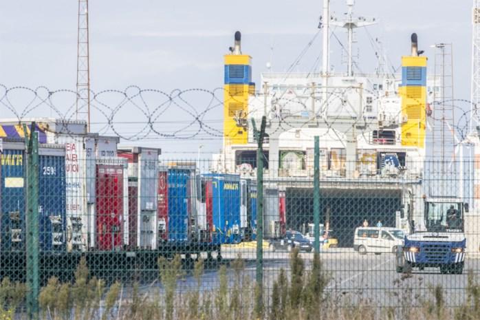 Acht transmigranten in Zeebrugge uit koeltransport gehaald
