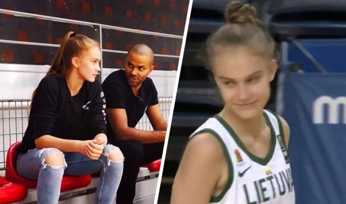 """Amper 13-jarige basketster verbaast de wereld: """"Ze is een unicorn"""""""