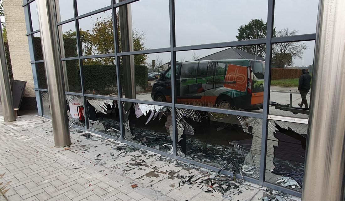 Ongezien: paniekerig everzwijn beukt zeven ramen in bij Ellimetal in Oudsbergen - Het Belang van Limburg