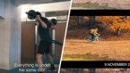 Wout van Aert deelt video met beelden van ongeziene training in het zand