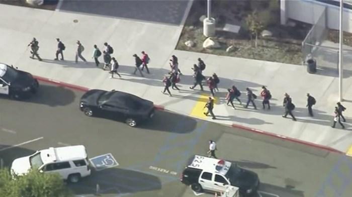 Schietpartij in middelbare school in Californië: twee doden en meerdere gewonden