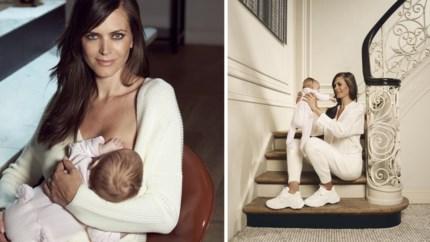 """Kersvers mama Astrid Coppens: """"Ik heb getwijfeld over borstvoeding, en nu ben ik zo gelukkig"""""""