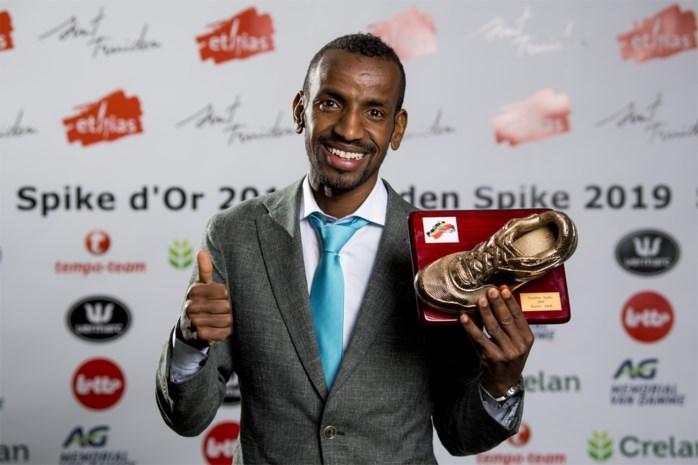 """Bashir Abdi pakt eerste Gouden Spike: """"Dubbel gevoel bij de Spelen"""""""