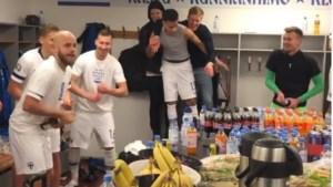 VIDEO. Uronen feest mee met Finnen na EK-kwalificatie
