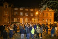 Warme actie aan asielcentrum Bilzen tegen haat en geweld