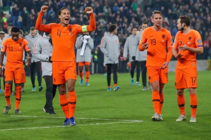 Nederland, Duitsland en vicewereldkampioen Kroatië mogen naar EK