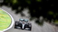 Hamilton net iets sneller dan Verstappen tijdens laatste oefensessie in Brazilië