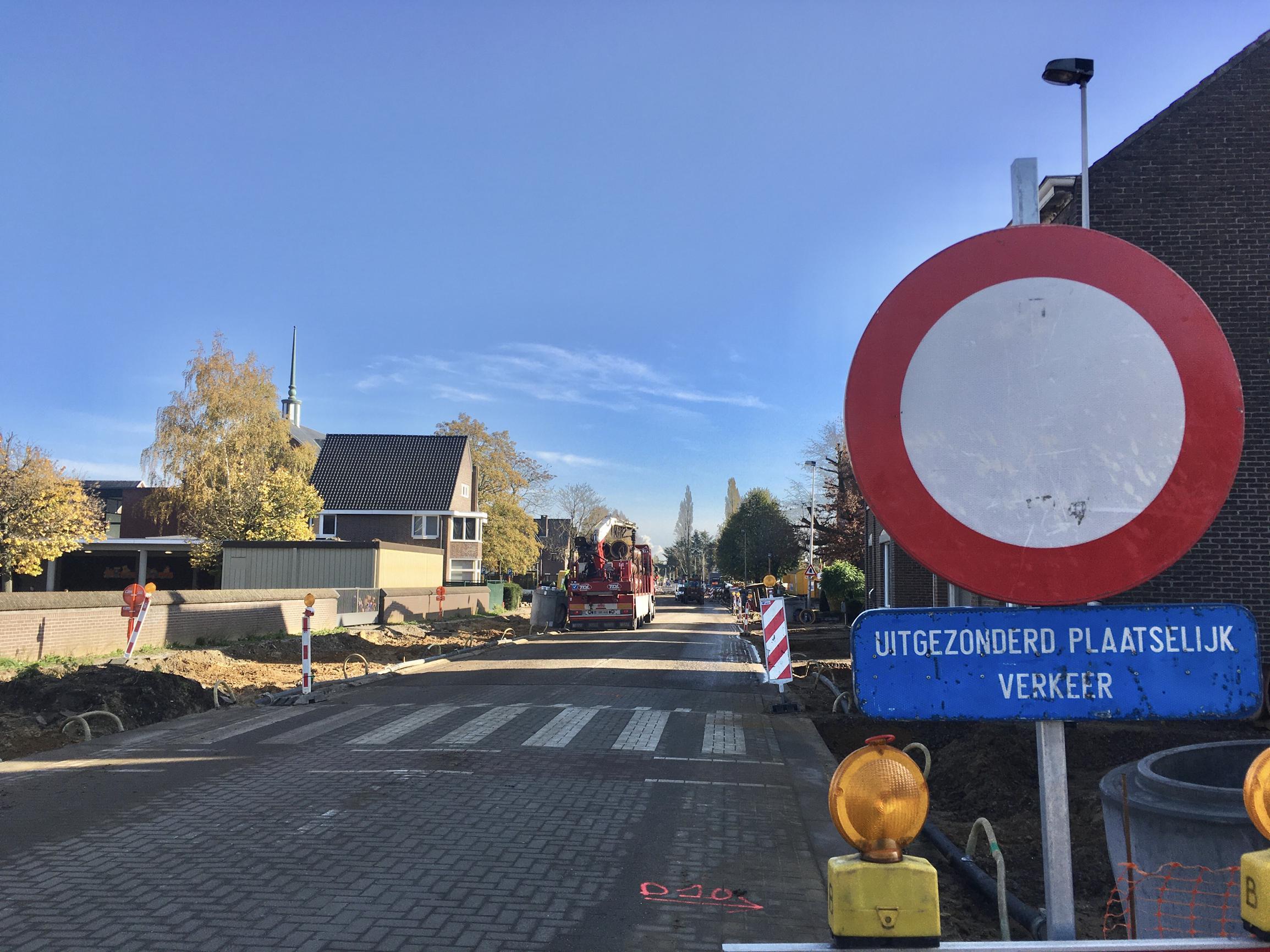 Werken Populierenlaan gaan tweede fase in (Lanaken) - Het Belang van Limburg