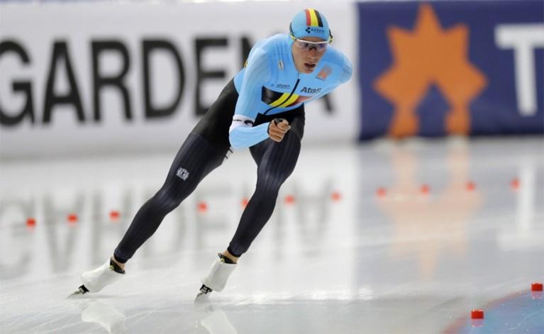 Bart Swings net buiten het podium in massastart op WB schaatsen in Minsk