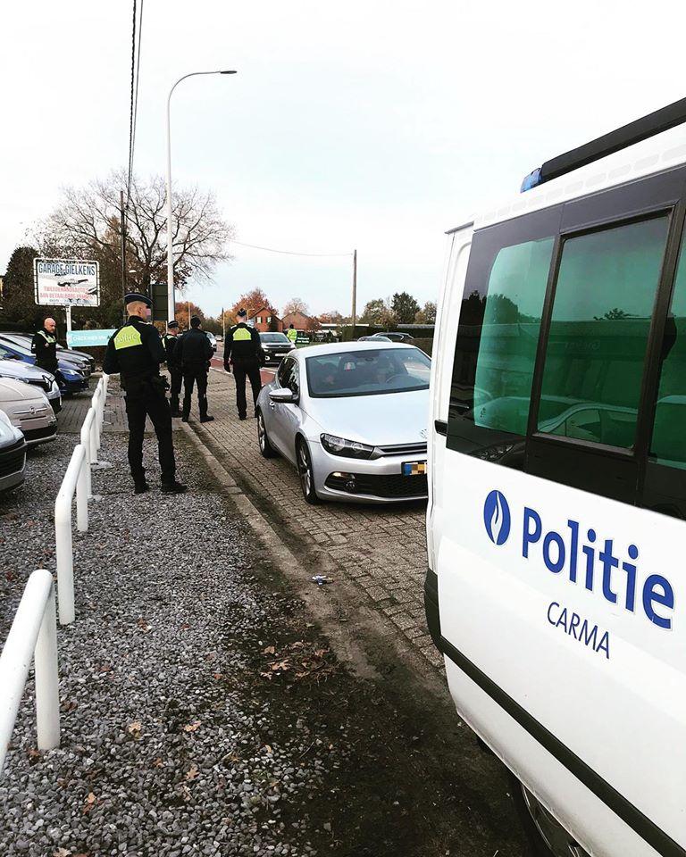 Drugs en lachgas in beslag genomen bij politiecontroles - Het Belang van Limburg