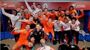 Oranje voor het eerst sinds 2014 op groot tornooi