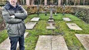 Voorzitter Heemkring redt zes priestergrafstenen