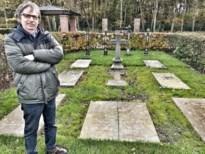 Grafstenen van Genkse priesters weer in elkaar gepuzzeld