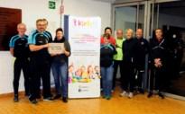 Landense Joggingclub vzw steunt 'Het KIETELT in Landen