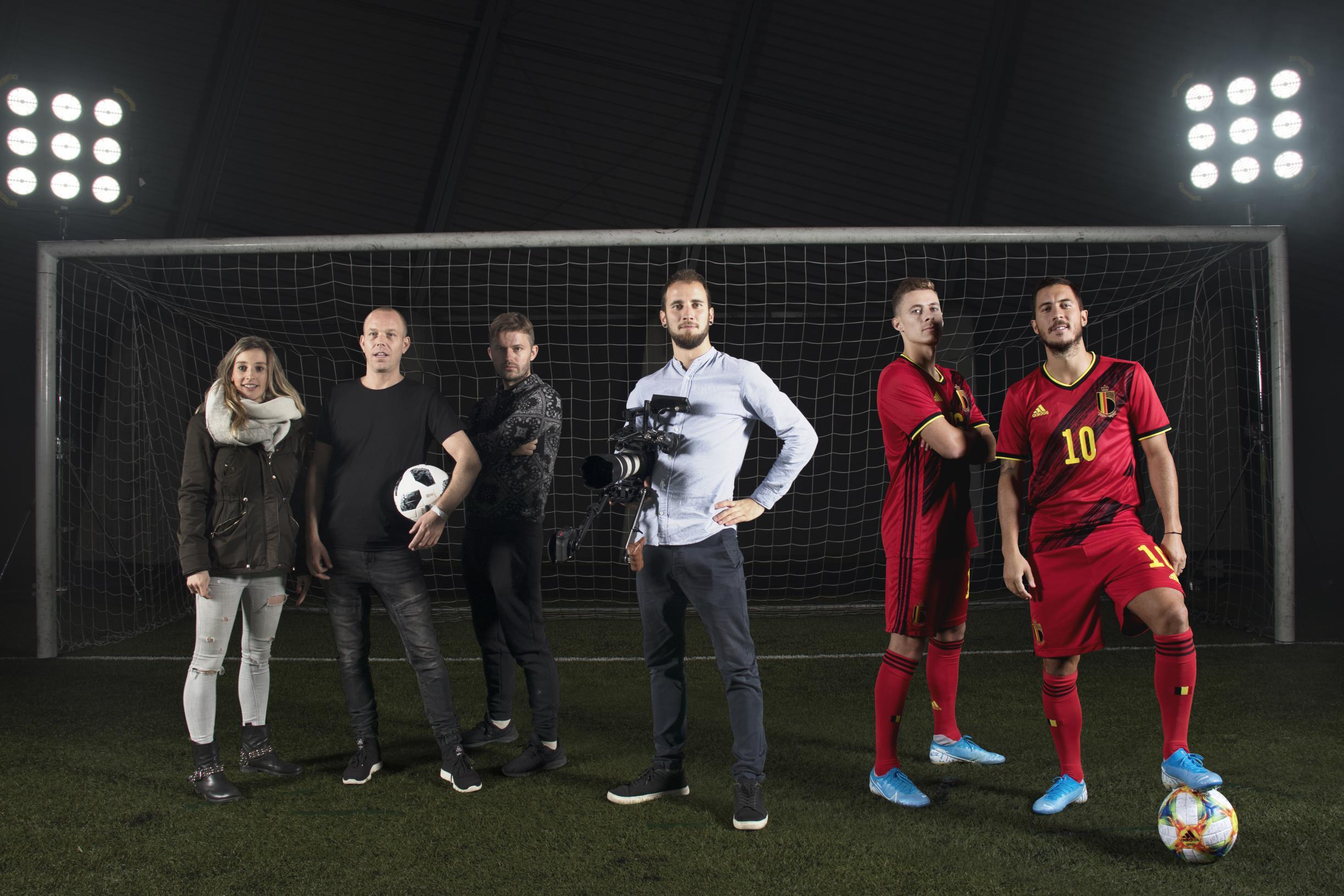 Zonhovens bedrijf zet u in 3D naast Lukaku of Hazard - Het Belang van Limburg