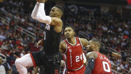 James Harden en Russell Westbrook leiden Houston Rockets naar achtste zege op rij in NBA