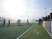 Maasmechelse hockeyclub installeert kanonsproeiers: