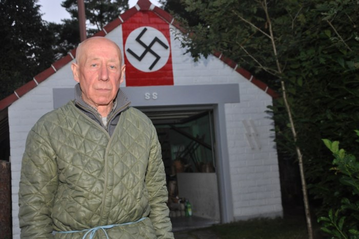 Eén jaar cel voor man die huis versierde met nazisymbolen