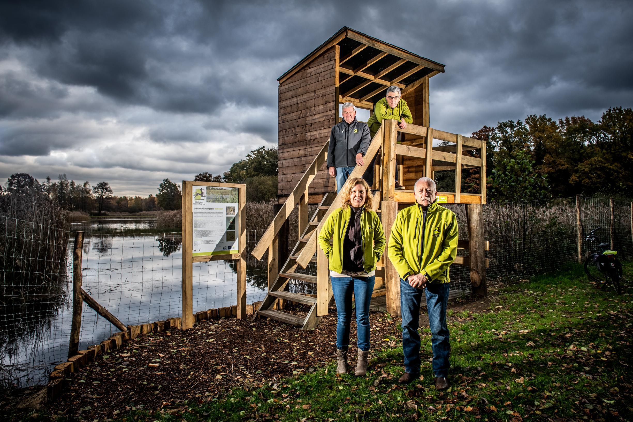 Nieuwe uitkijktoren geeft uniek zicht op Zonhovens natuurgeb... (Zonhoven) - Het Belang van Limburg