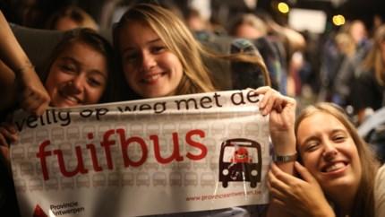 Limburgse fuifbussen niet langer gratis