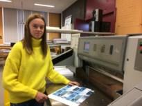 Creatief aan de slag in de drukkerij op school