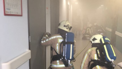 'Evacuatie' in Sint-Trudo Ziekenhuis: politie en brandweer oefenen voor ramp