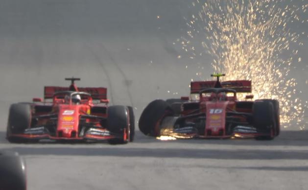 """Ferrari: """"Dramatische crash tussen beide rijders gebeurde gelukkig nu"""""""