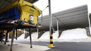 Al meer dan 200 ton zout gestrooid op Limburgse wegen door code geel