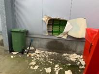 Inbrekers met bijl kappen zich weg naar binnen bij Eierhoeve Lecoque