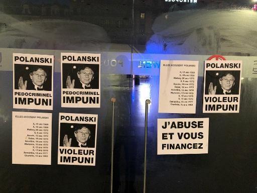 Gevels Brusselse cinema's beklad uit protest tegen nieuwe film Roman Polanski