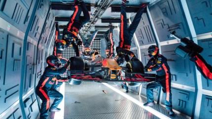 Red Bull doet pitstop bij gewichtloosheid