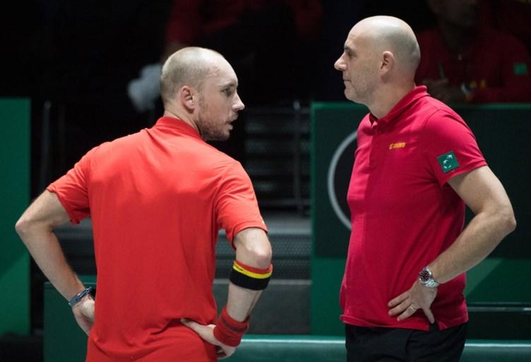 België definitief uitgeschakeld in Davis Cup: Duitser bezegelt het lot van David Goffin en co.