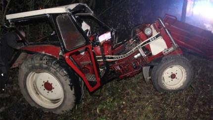 Auto rijdt achterop tractor: landbouwer zwaargewond in Bree
