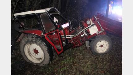 Landbouwer zwaargewond bij aanrijding op 't Hasseltkiezel