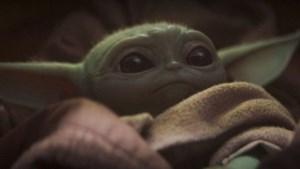 'Baby Yoda' is plots overal, behalve onder de kerstboom