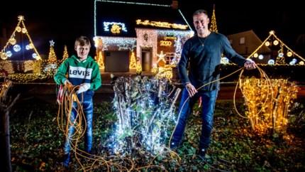 Kersthuis met 50.000 lichtjes: