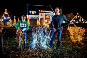 Meer dan 50.000 lampjes aan 'kersthuis' in Tessenderlo