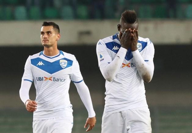 Hellas Verona dan toch niet gestraft voor racisme tegen Mario Balotelli