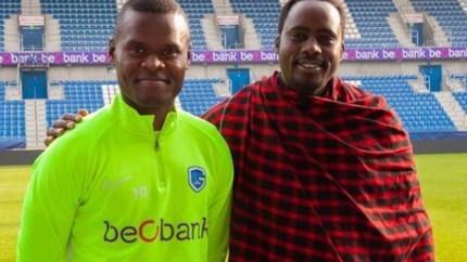 Opmerkelijke gast in Luminus Arena: Masai-leider bezoekt Ally Samatta